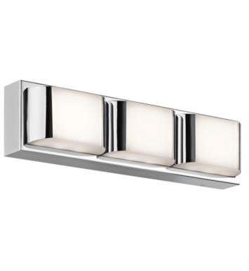 "Kichler 45821CHLED Nita 1 Light 19"" LED Linear Bath Light in Chrome"