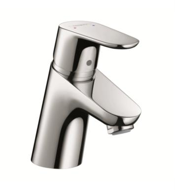 "Hansgrohe 04370000 Focus 70 4"" Single Handle Deck Mounted Bathroom Faucet with Pop-Up Assembly With Finish: Chrome"