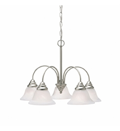 Kichler Telford Collection Chandelier 5 Light in Brushed Nickel