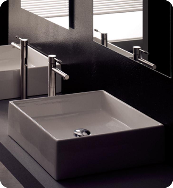 Nameeks 8031 scarabeo bathroom sink for Nameeks bathroom sinks