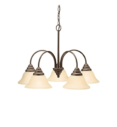 Kichler Telford Collection Chandelier 5 Light in Olde Bronze