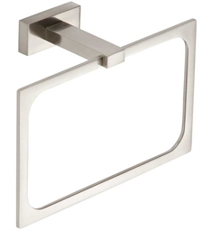 "Atlas Homeware 7-7/8"" AXTR Towel Ring from the Axel Collection"