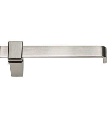 "Atlas Homewares BUTPBRN 6-7/8"" Toilet Paper Holder from the Buckle Up Collection With Finish: Brushed Nickel"