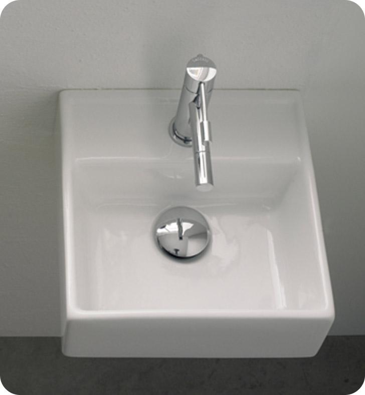 Nameeks 8036 scarabeo bathroom sink for Nameeks bathroom sinks