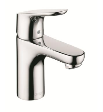 "Hansgrohe 04371000 Focus 100 4 5/8"" Single Handle Deck Mounted Bathroom Faucet with Pop-Up Assembly With Finish: Chrome"