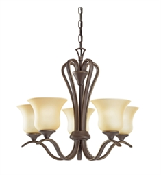 Kichler Wedgeport Collection Chandelier 5 Light in Olde Bronze
