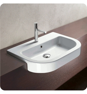 Catalano 1LSZE00 Zero Tondo 65 Single Washbasin