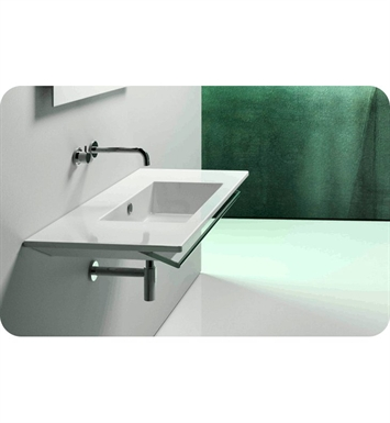 Catalano 1105ST00-0 Star 105 Single Washbasin With Faucet Holes: No Hole
