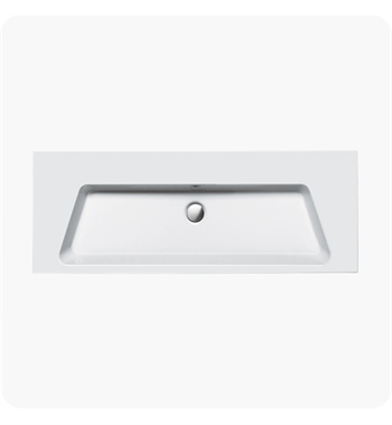 Catalano 1125PR00-1 Proiezioni 125 Single Washbasin With Faucet Holes: Single Hole