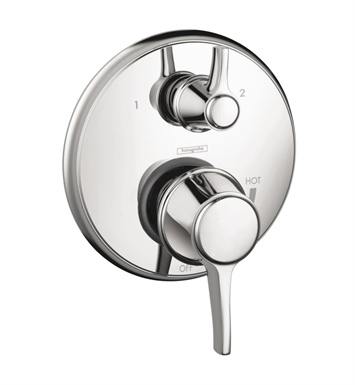Hansgrohe 04449830 C Pressure Balance Trim with Diverter With Finish: Polished Nickel