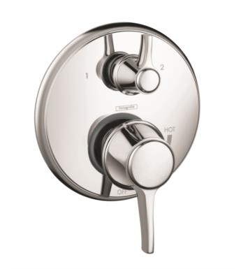 "Hansgrohe 04449000 Metris C 6 3/4"" Pressure Balance Trim with Diverter With Finish: Chrome"