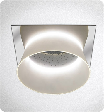 TOTO TS626KG#CP Aimes® Ceiling-Mount Showerhead with LED Lighting With Finish: Polished Chrome