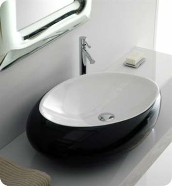 Nameeks 8601 Scarabeo Bathroom Sink