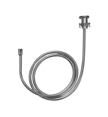 Hansgrohe 06438000 Metal Hose Pull Out Set for Handshower With Finish: Chrome