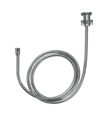 "Hansgrohe 06438000 78 3/4"" Metal Hose Pull-Out Set for Handshower With Finish: Chrome"