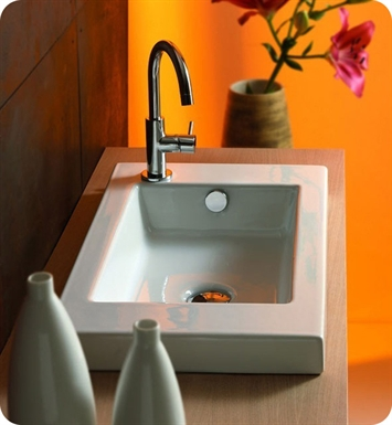 Nameeks 3503011 Tecla Bathroom Sink