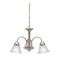 Kichler Wynberg Collection Chandelier 3 Light in Brushed Nickel