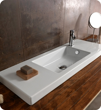 Nameeks 3502011 Tecla Bathroom Sink