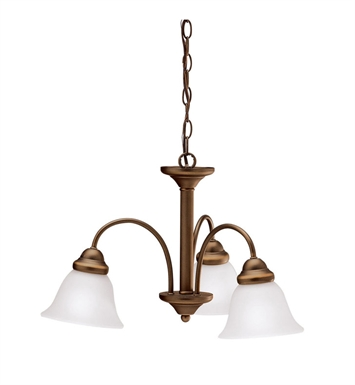 Kichler 3293OZ Wynberg Collection Chandelier 3 Light in Olde Bronze