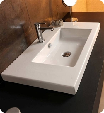 Nameeks CAN03011 Tecla Bathroom Sink