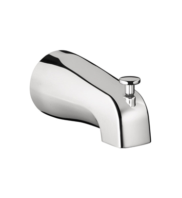 Hansgrohe 06501000 Commercial Tub Spout with Diverter in Chrome
