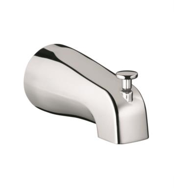"Hansgrohe 06501000 Commercial 5 1/2"" Wall Mount Tub Spout with Diverter With Finish: Chrome"