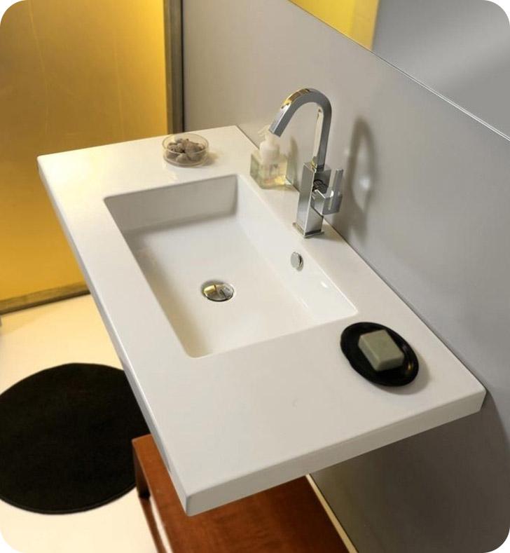 Nameeks mar03011 tecla bathroom sink for Nameeks bathroom sinks