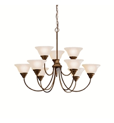 Kichler Telford Collection Chandelier 9 Light in Olde Bronze