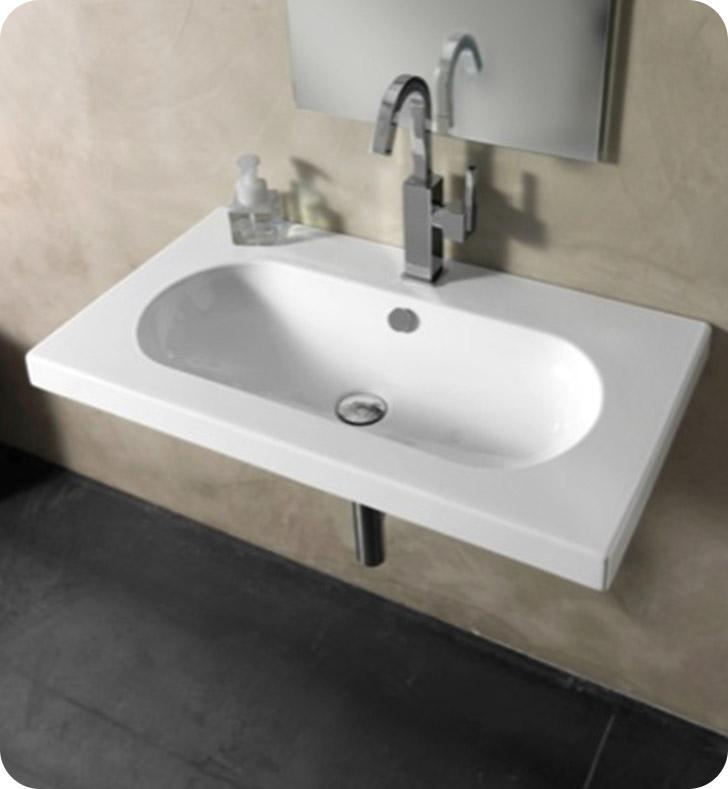 Nameeks edw2011 tecla bathroom sink for Nameeks bathroom sinks