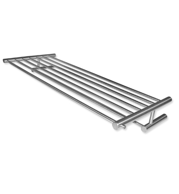 Cool Lines 800253 Cool Line Towel Rack with Bar in Satin Stainless Steel