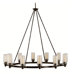 Kichler Circolo Collection Chandelier 12 Light in Olde Bronze