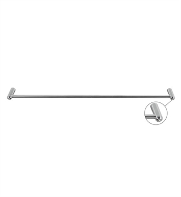 "Cool Lines CSB102/24 Crystal Steel 24"" Towel Bar in Black Stainless Steel"