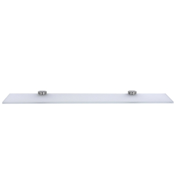 Cool Lines CSP109 Crystal Steel Toiletry Shelf in Polished Stainless Steel