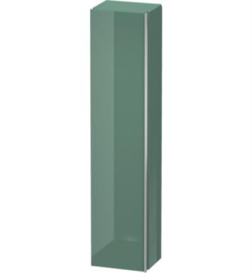 "Duravit DN1274R5151 Darling New 70 7/8"" Wall Mount Tall Linen Cabinet with Three Glass Shelves and One Wooden Shelf With Body Finish: Terra Pine And Sensor Switch: Right Sensor Switch And Front and Countertop Finish: Terra Pine"