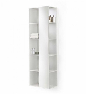 Duravit DN1276 Darling New Tall Open Shelf Cabinet