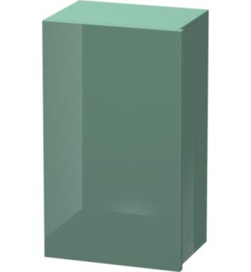 "Duravit DL1289 Delos 14 5/8"" Wall Mount Semi -Tall Linen Cabinet with Two Glass Shelves"