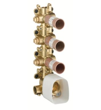 "Hansgrohe 10750181 Axor Starck 5 1/4"" Thermostatic Module with Multi-Volume Control in Brass"