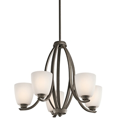 Kichler Granby Collection Chandelier 5 Light in Olde Bronze