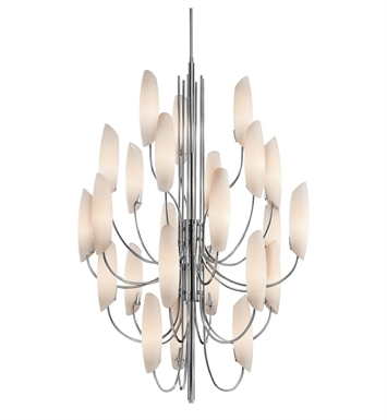 Kichler 42214CH Stella Collection Chandelier 24 Light in Chrome