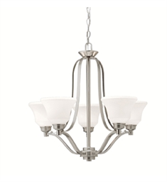 Kichler Chandelier 5 Light in Brushed Nickel