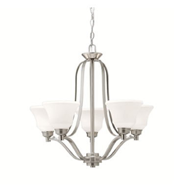 Kichler 1783NI Chandelier 5 Light in Brushed Nickel