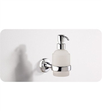 SONIA 53610026 E-PLUS Soap Dispenser in Glass/Chrome