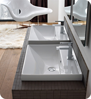 Nameeks 3004 Scarabeo Bathroom Sink