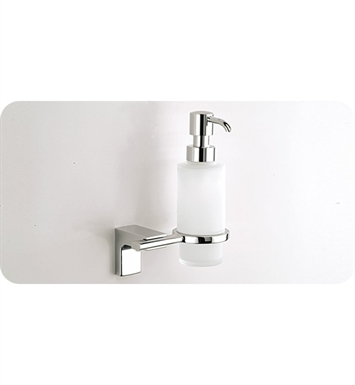 SONIA 46610026 Eletech Soap Dispenser and Holder in Glass/Chrome