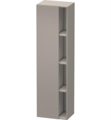 "Duravit DS1249 DuraStyle 14 1/8"" Wall Mount Tall Linen Cabinet with One Door"