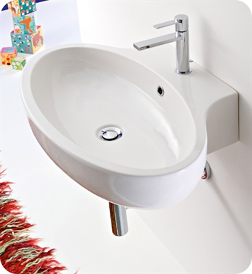 Nameeks 8109 Scarabeo Bathroom Sink