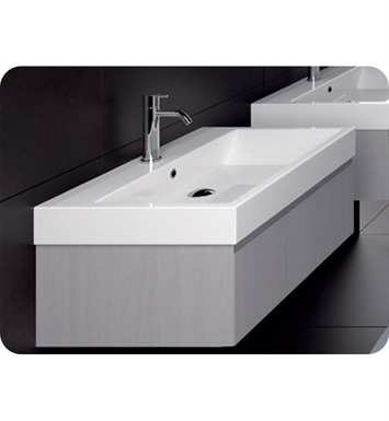 Catalano ZO0751DR-P29 Zero 75 Vanity Base Cabinet with One Drawer With Finish: Bianco Male (Soft-Touch Laminate)