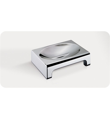 SONIA 5119ME26 Nakar Soap Dish Counter Top in Chrome