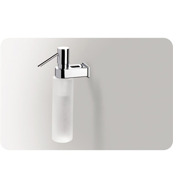 SONIA 51610026 Nakar Soap Dispenser in Glass/Chrome