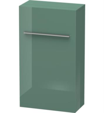 "Duravit FO9550 Fogo 34 5/8"" Wall Mount Semi-Tall Linen Cabinet with Four Glass Shelves"